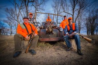 Pheasant hunt at R&R Pheasant Hunting in Seneca, SD