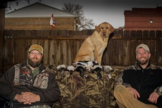 Duck hunting with Beer for Wildlife and Jason Markkula