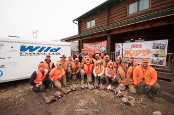 Fundraising pheasant hunt for KKIDS at Ringneck Retreat and filming for Wild Dakota
