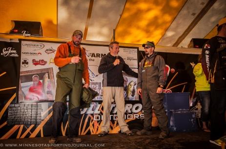 Teen Challenge fishing tournament with Jamie Dietman in 2015