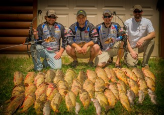 Bowfishing near Brainerd