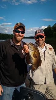 Bret with Eric Altena filming for Prairie Sportsman