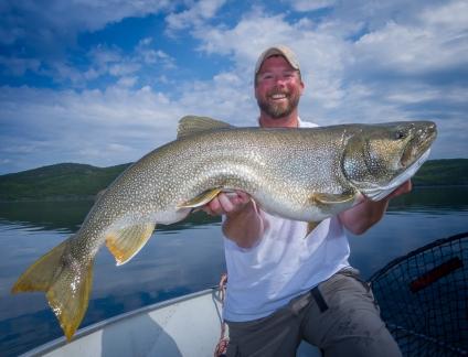 Tazin Lake lake trout