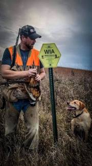 Western Minnesota WIA rooster with Mika